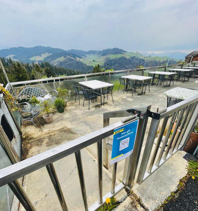 Terrasse Restaurant zur Sennerei